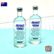 Load image into Gallery viewer, Miniature Mini Absolute Vodka Bottle Set of 2 - 1:12 Miniature