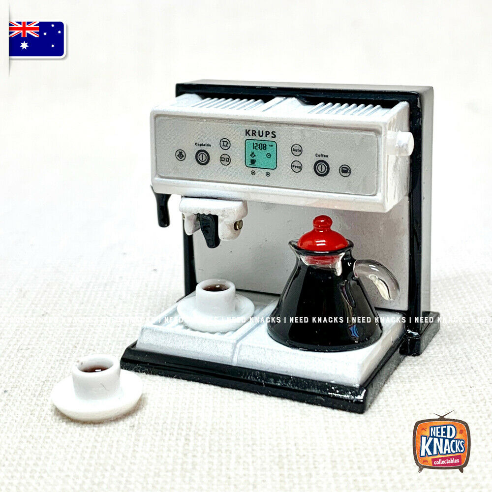 Mini Coffee Machine Set - 1:12 Miniature