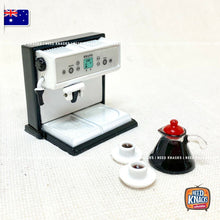 Load image into Gallery viewer, Mini Coffee Machine Set - 1:12 Miniature