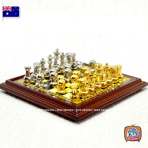 Mini Chess Set - 1:12 Miniature