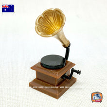 Load image into Gallery viewer, Mini Phonograph - Miniature 1:12