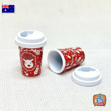 Load image into Gallery viewer, Mini Coffee Cup Christmas Theme - 1:12 Miniature