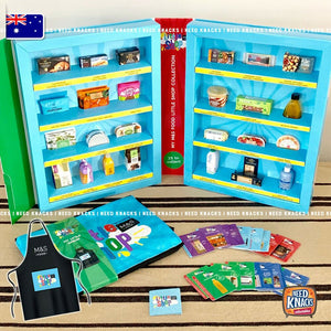 M&S Marks and Spencer Little Shop UK Complete Set with Case & Apron