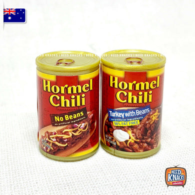 Zuru Mini Brands USA - Mini HORMEL CHILI SET of 2