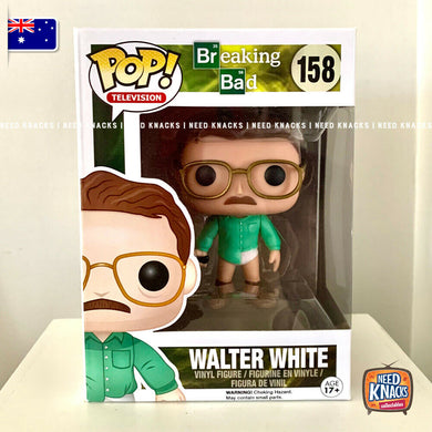 Funko Pop Breaking Bad #158 Walter White Rare Vaulted