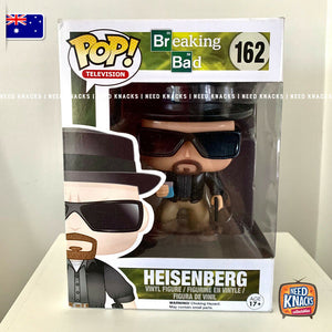 Funko Pop Television Breaking Bad #162 Heisenberg Rare Vaulted + Protector