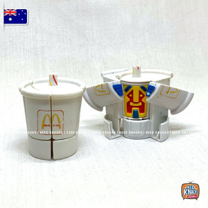 McDonald's Changeables Series 2 | Krypto Cup McRobots | McDonald's Collectables