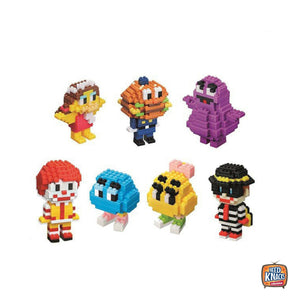 McDonald's x nanoblock Ronald & Friends Collection | Happy Meal Toys | Seal New