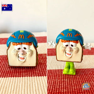 McDonald's Food FUNdamentals | Changeables | Happy Meal Toy Collectables