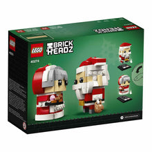 Load image into Gallery viewer, LEGO Brickheadz 40274 Christmas Santa Brickheadz Mr Claus & Mrs Claus