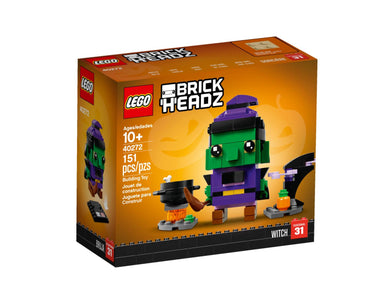 LEGO Brickheadz 40272 Seasonal Halloween Witch New Halloween BNIB AU