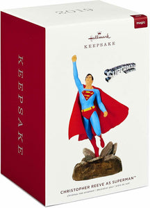 Hallmark Keepsake DC Comics Christopher Reeve as Superman Musical Ornament