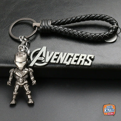 Avengers Iron Man Keyring Charms Marvel Infinity War Keychain End Game V2