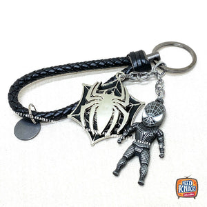 Rotatable Avengers Spider Man Keyring Charms Marvel Infinity War Keychain