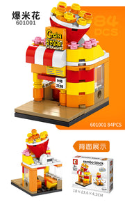 SEMBO Block 601001 | POPCORN SHOP | Mini Street Collections | Creative Building Blocks