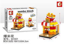 Load image into Gallery viewer, SEMBO Block 601001 | POPCORN SHOP | Mini Street Collections | Creative Building Blocks
