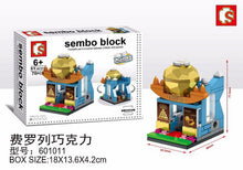 Load image into Gallery viewer, SEMBO Block 601011 | CHOCOLATE SHOP | Mini Street Collections | Creative Building Blocks