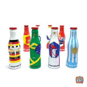 Coca-Cola FIFA WORLD CUP Collectors Bottles | Set of 8 | BACK-ORDER