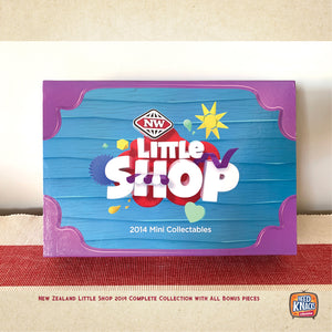 SALE | NZ Little Shop 2014 Complete Set with ALL BONUS PIECES | NZ Minis