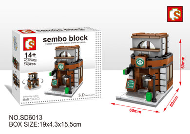 SEMBO Block SD6013 | CAFE | Creative Building Blocks