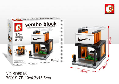 SEMBO Block SD6015 | SPORTS STORE | Creative Building Blocks
