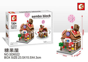 SEMBO Block SD6022 | CANDY STORE | Creative Building Blocks