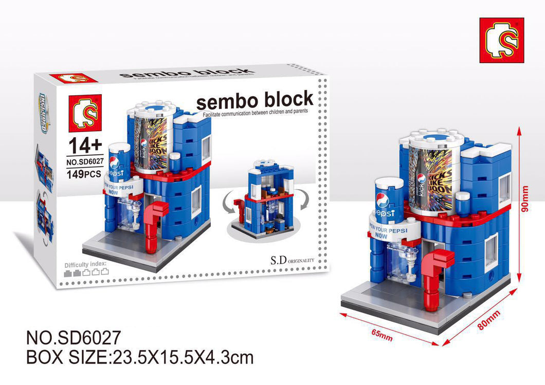 SEMBO Block SD6027 | SODA SHOP | Creative Building Blocks