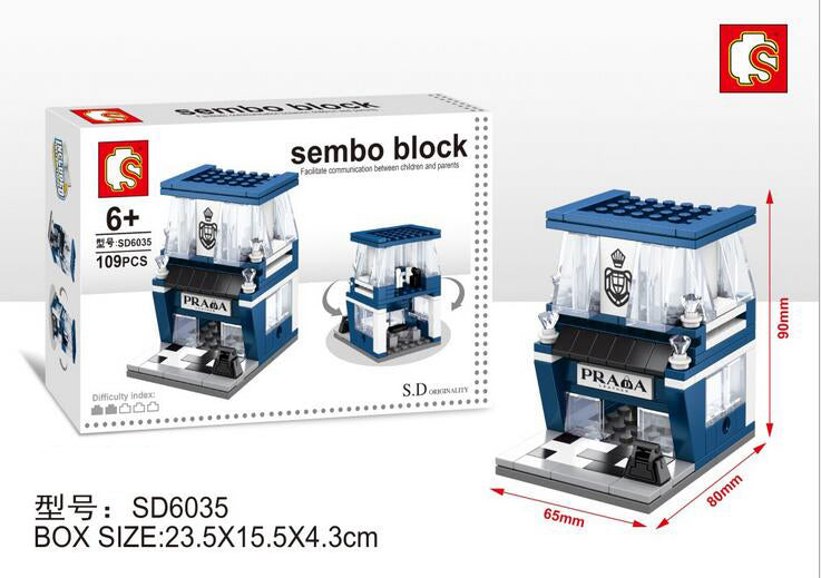 SEMBO Block SD6035 | LEATHER GOODS OUTLET | Creative Building Blocks