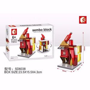 SEMBO Block SD6038 | LIQUOR STORE | Creative Building Blocks