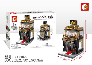 SEMBO Block SD6043 | KOREAN RESTAURANT | Creative Building Blocks