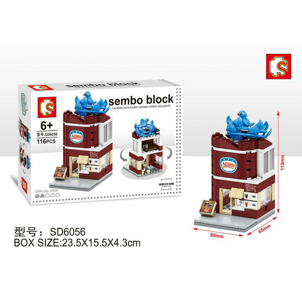 SEMBO Block SD6056 | BEVERAGE STORE | Creative Building Blocks