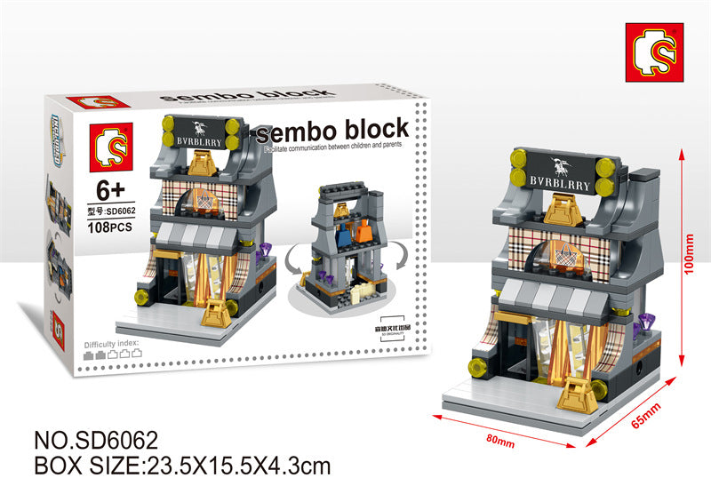 SEMBO Block SD6062 | B BOUTIQUE | Creative Building Blocks