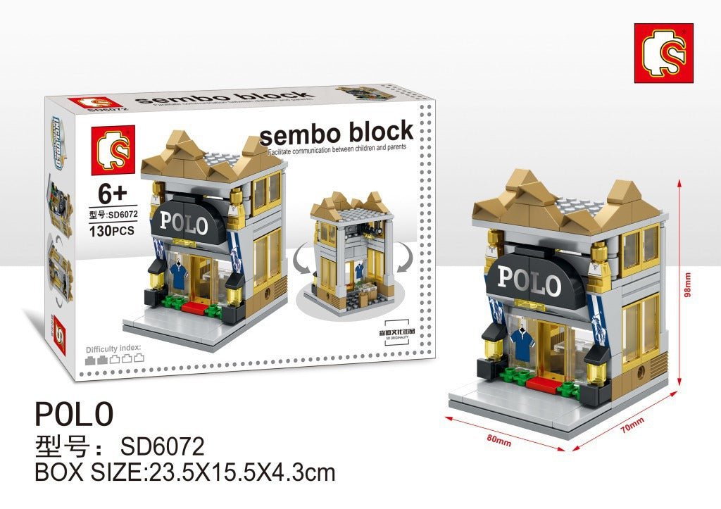 SEMBO Block SD6072 | POLO BOUTIQUE | Creative Building Blocks