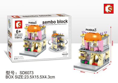 SEMBO Block SD6073 | JEWELLERY STORE | Creative Building Blocks