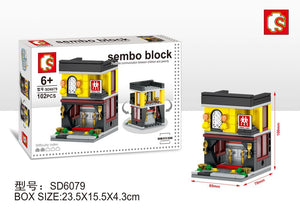 SEMBO Block SD6079 | KITCHENWARE SHOP | Creative Building Blocks