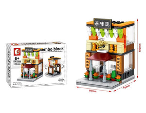 SEMBO Block SD6086 | TEA HOUSE | Creative Building Blocks