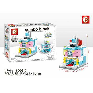 SEMBO Block SD6612 | BABY STORE | Creative Building Blocks