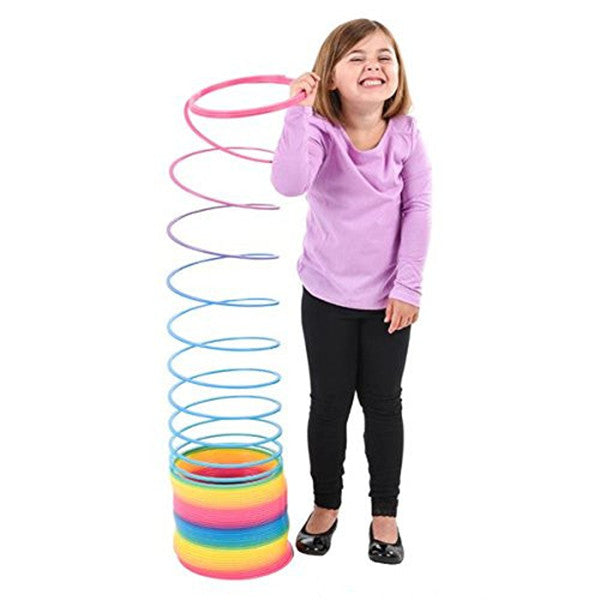 Magic Spring Rainbow Slinky Toy