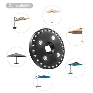( LIMITED SALE)Super Bright Patio LED Umbrella Light - A Must Have for Outdoor Activities!