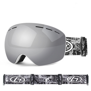 Ski & Snowboard Goggles with Magnetic & Detachable Dual lens system