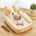 2018 NEW Cuddly Pet Bed(dog or cat) with Durable Fabrics - Multiple Colors, Sizes, and Styles Available