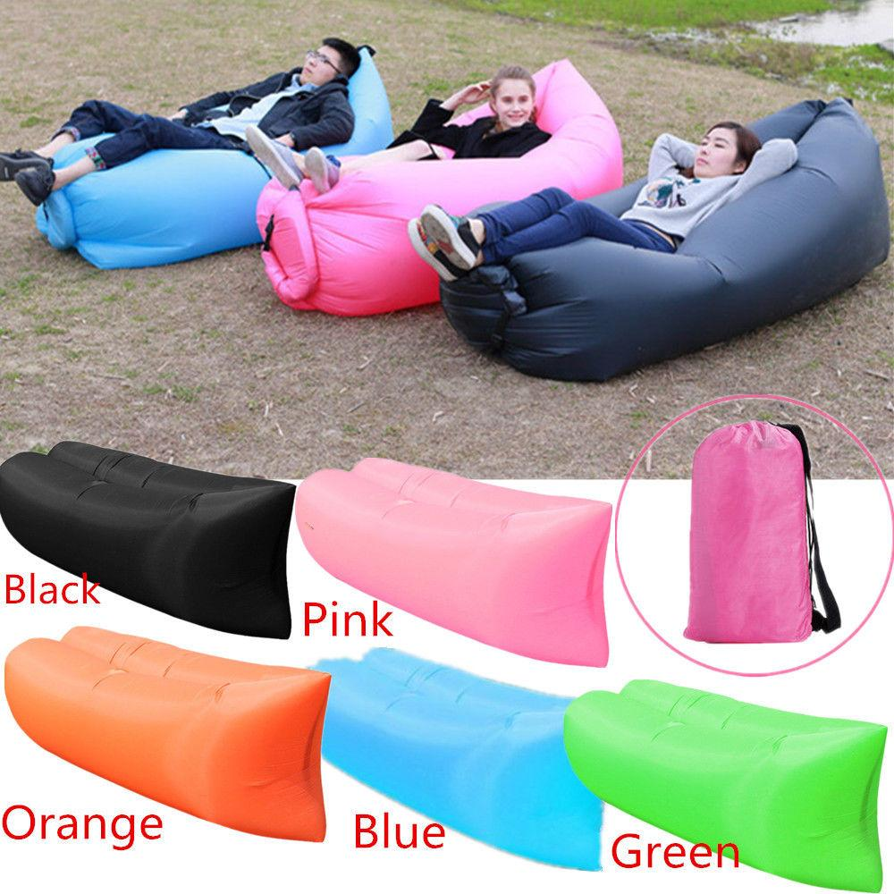 2019 NEW Inflatable Lounger Air Sofa Hammock-Portable,Water Proof& Anti-Air Leaking Design