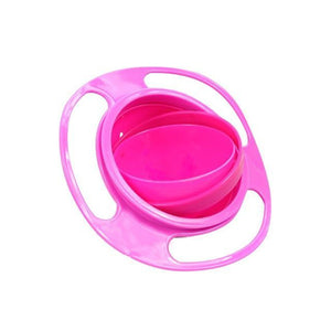 Kids no spill food gyro bowl