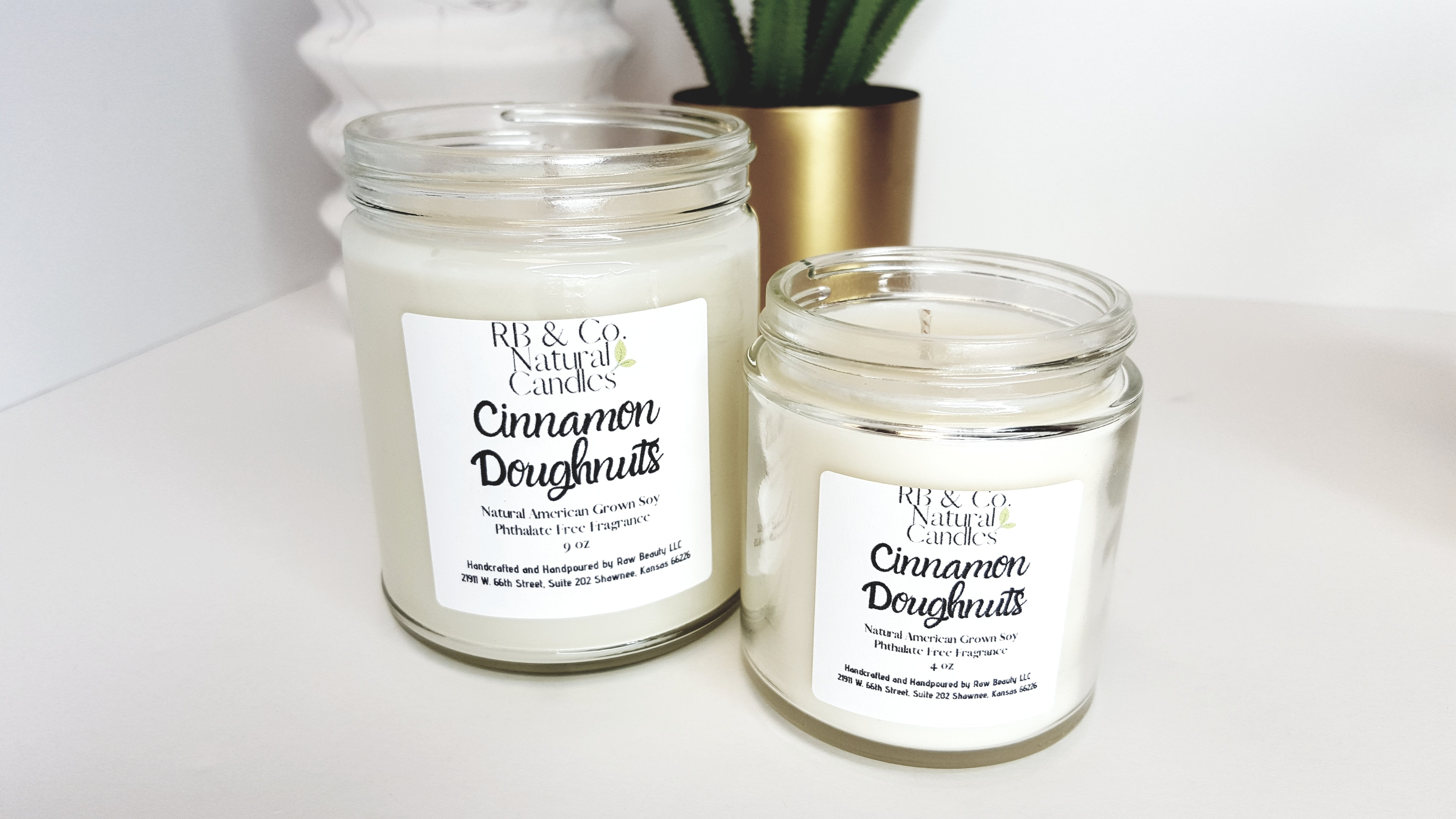 Cinnamon Doughnuts Scented Candle