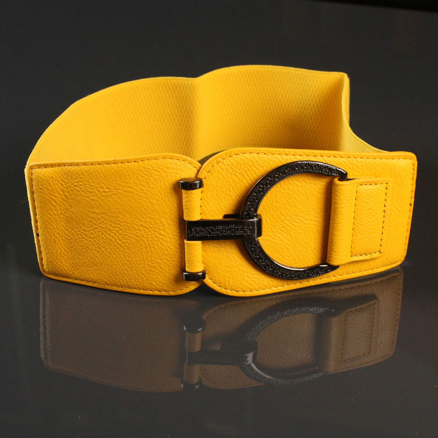 Wide Yellow Belt