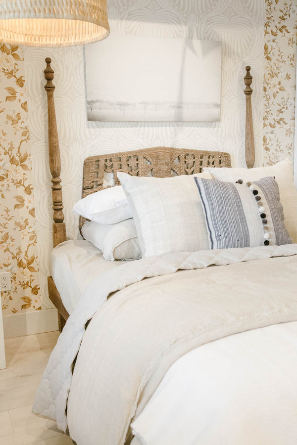 3 Ways to Style your Bed for Spring