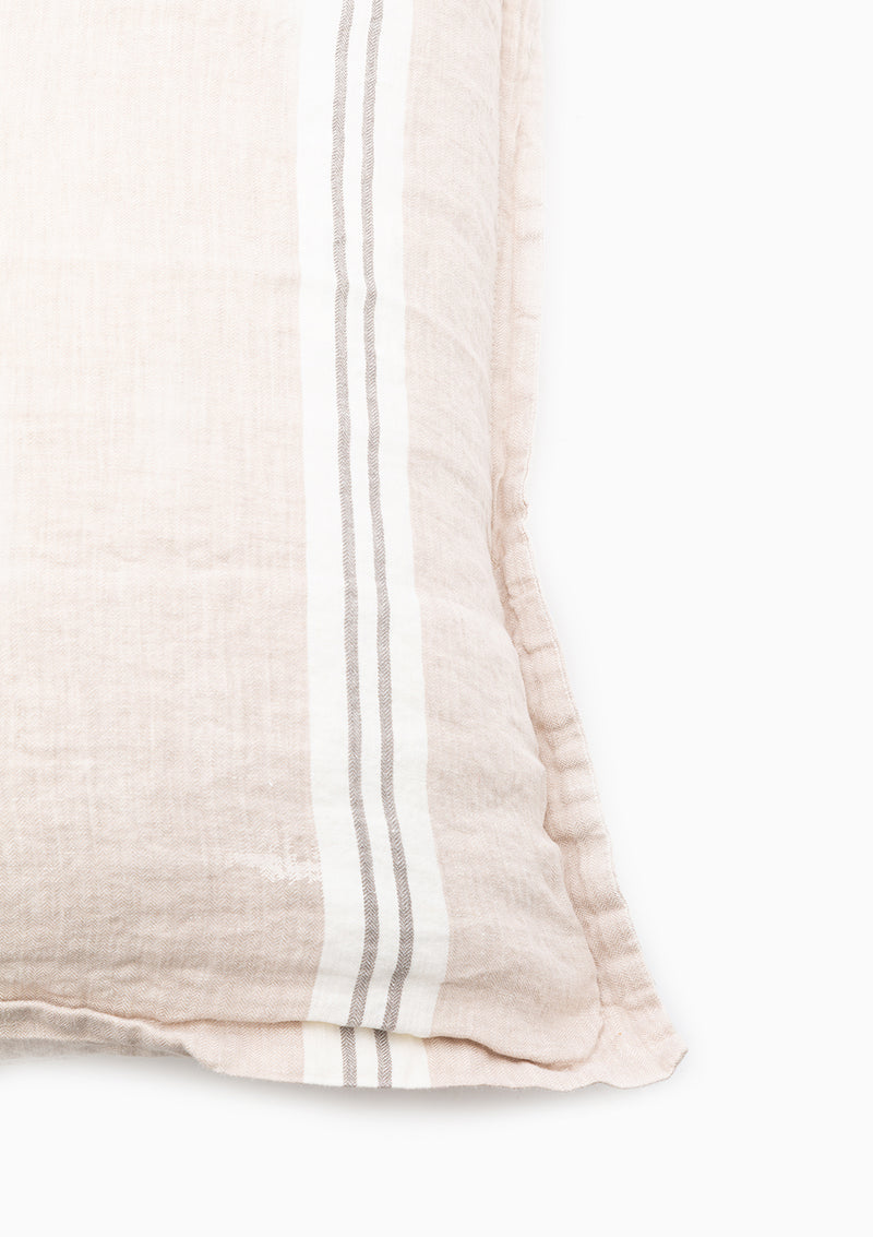 Pure Linen Striped Sham