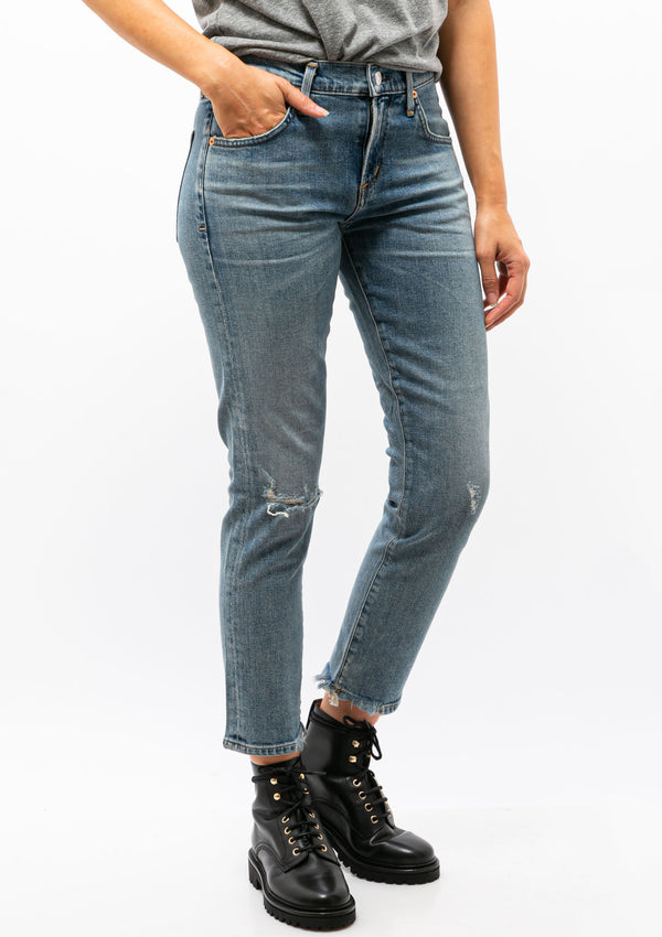 Elsa Mid Rise Slim Fit Crop | Cadence