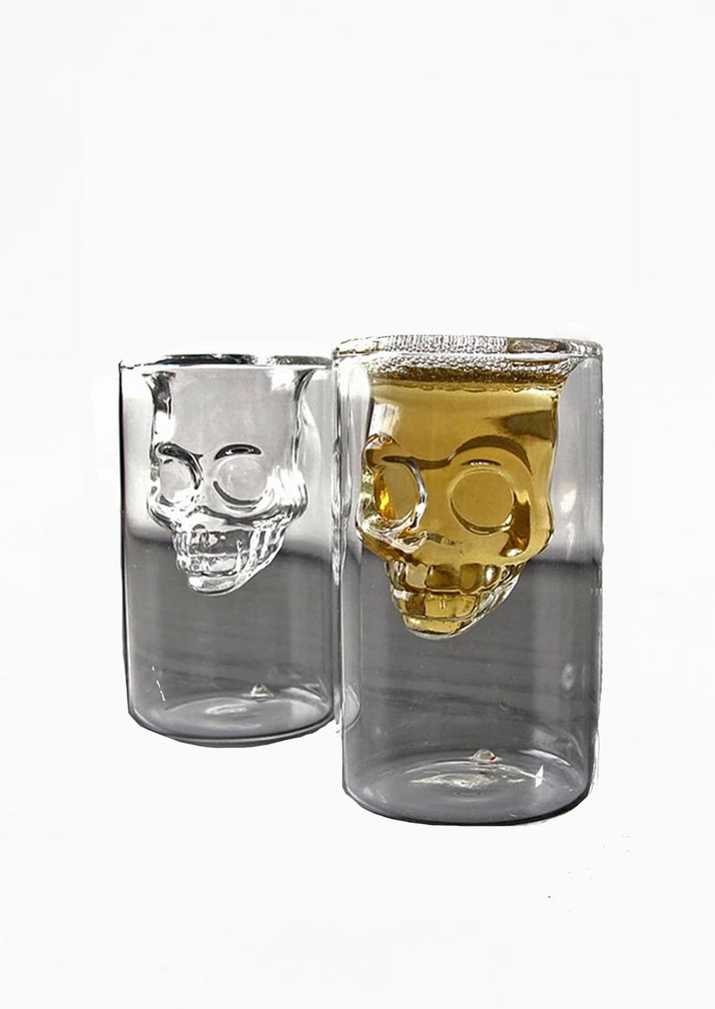 Skull Shot Glasses Pair