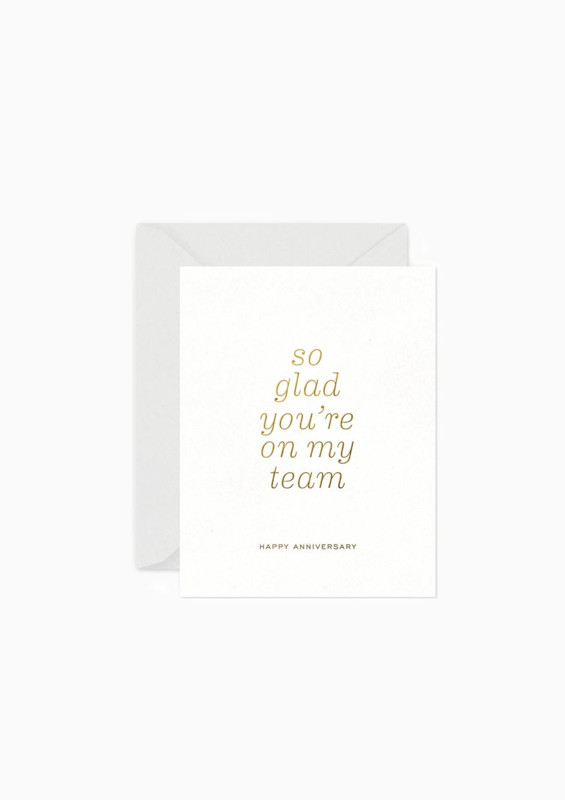 Greeting Card 2 Team Anniversary